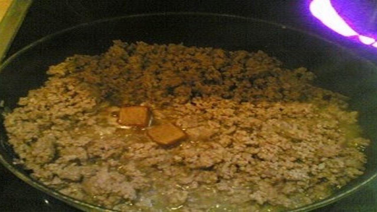 كيف أطبخ اللحم المفروم