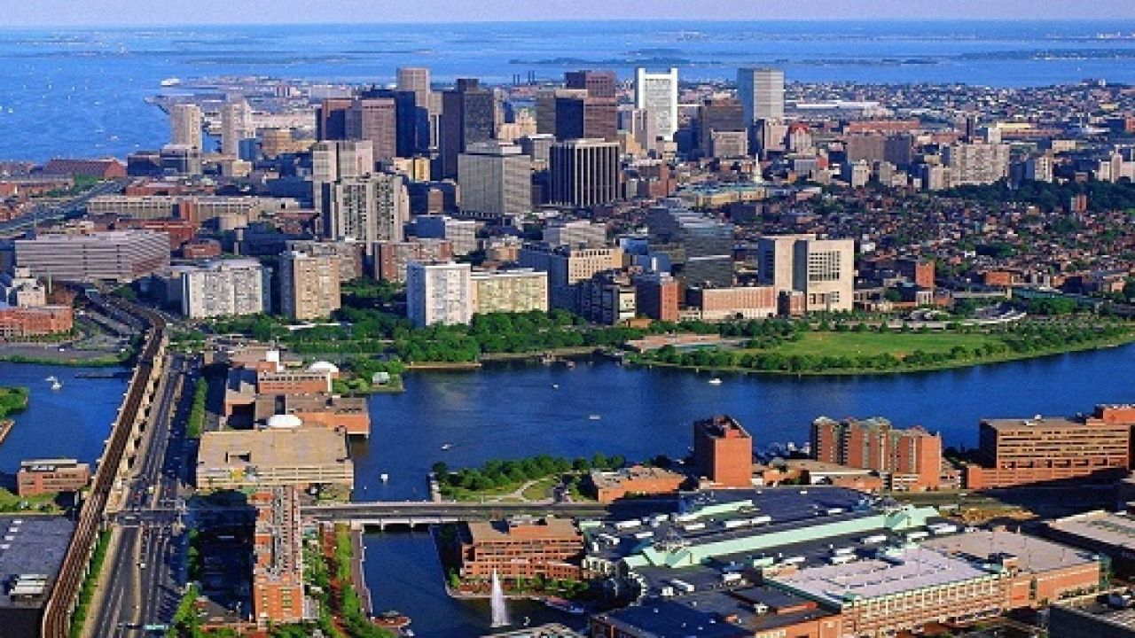 أين تقع ولاية بوسطن