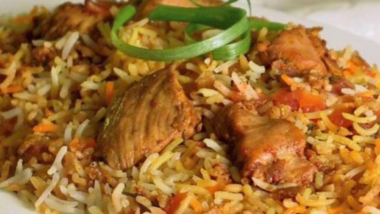 طريقة عمل أرز برياني دجاج