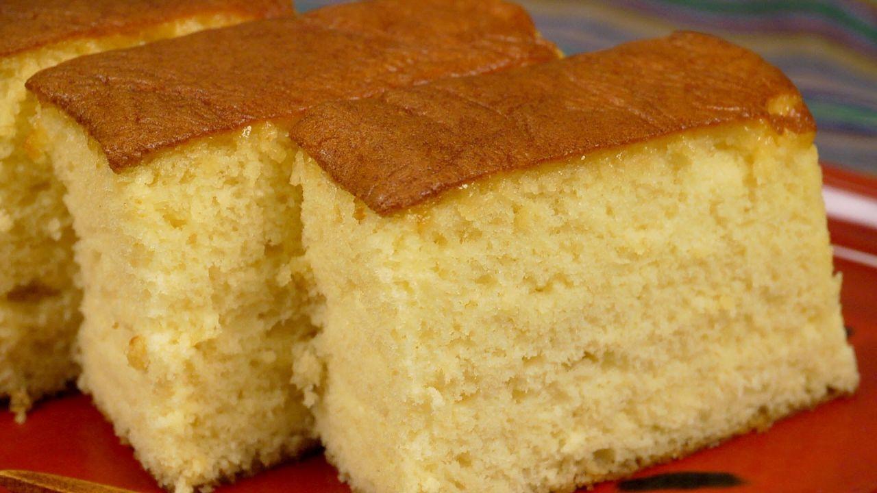 صنع الكيكة الإسفنجية