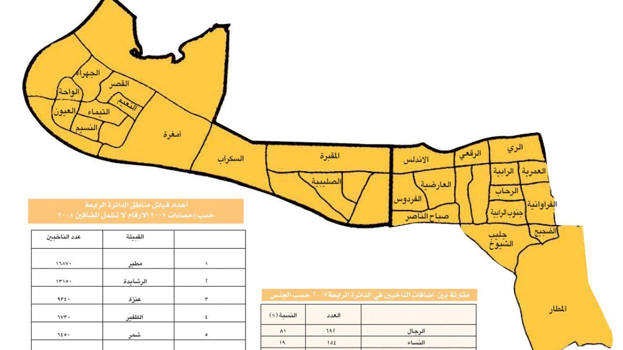 مناطق محافظة الجهراء