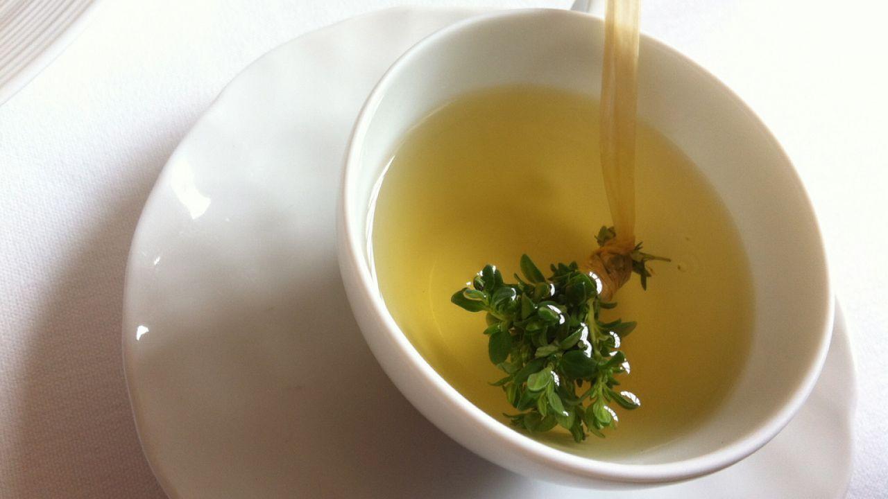 فوائد شرب شاي الزعتر