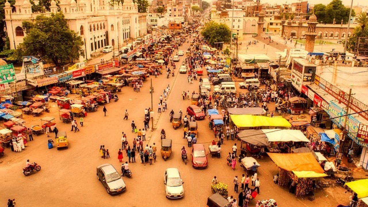 مساحة الهند وعدد سكانها