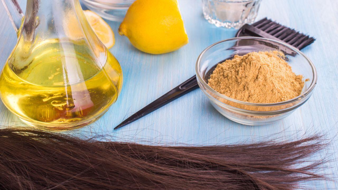 أعشاب لزيادة كثافة الشعر