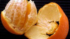 كيفية تجفيف قشر البرتقال