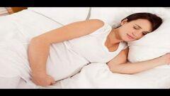 كيفية نوم المرأة الحامل