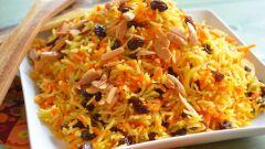 طريقة تحضير أرز أبيض بالزبيب