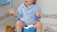 كيف أعلم طفلي الذهاب للحمام