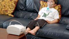 علاج ضيق التنفس عند الأطفال