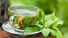 فوائد الشاي الأخضر والنعناع