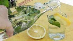 فوائد الماء على الريق مع الليمون