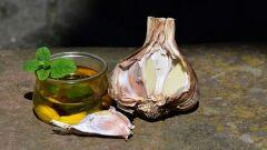 طريقة تخليل الثوم بزيت الزيتون