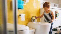 أفضل عمر لتعليم الطفل الحمام